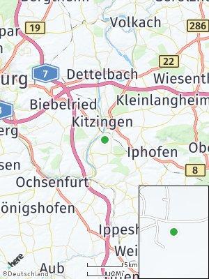 Here Map of Hohenfeld