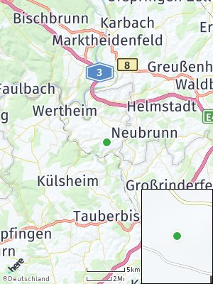 Here Map of Wagenbuch