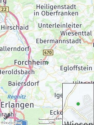 Here Map of Wiesenthau