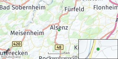 Google Map of Alsenz