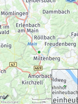 Here Map of Kleinheubach