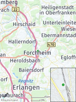 Here Map of Forchheim