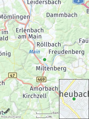 Here Map of Großheubach