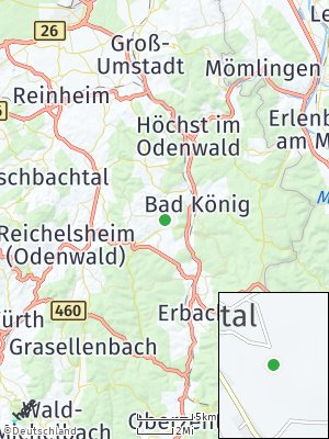 Here Map of Brombachtal