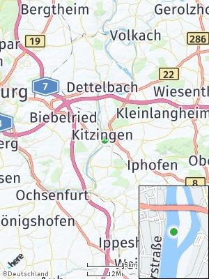 Here Map of Kitzingen