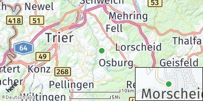 Google Map of Morscheid
