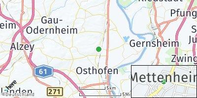 Google Map of Mettenheim