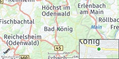 Google Map of Bad König