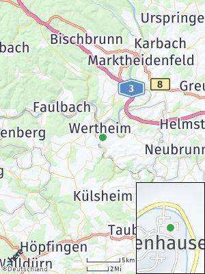 Here Map of Waldenhausen