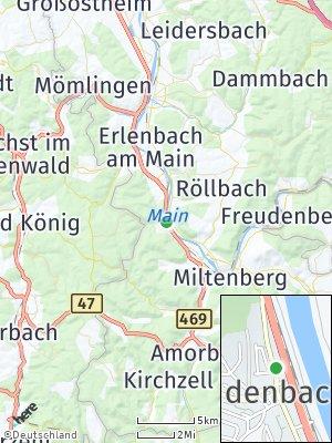 Here Map of Laudenbach