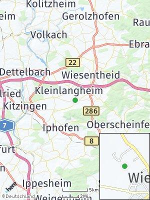 Here Map of Wiesenbronn