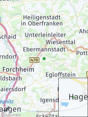 Here Map of Pretzfeld