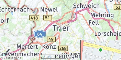 Google Map of Trier