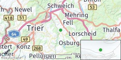 Google Map of Waldrach