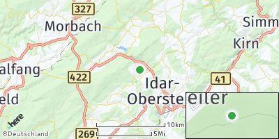 Google Map of Kirschweiler
