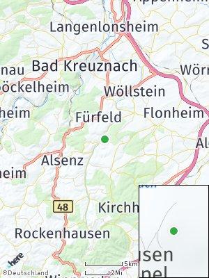 Here Map of Niederhausen an der Appel