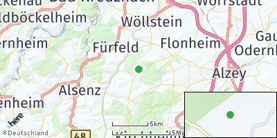 Google Map of Mörsfeld