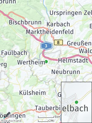 Here Map of Lindelbach