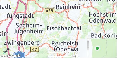 Google Map of Fischbachtal