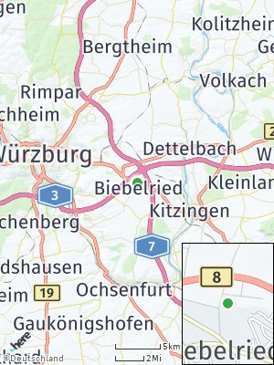 Here Map of Biebelried