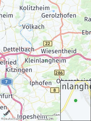Here Map of Kleinlangheim