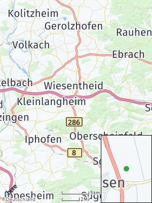 Here Map of Rüdenhausen
