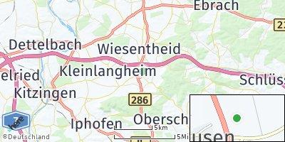 Google Map of Rüdenhausen