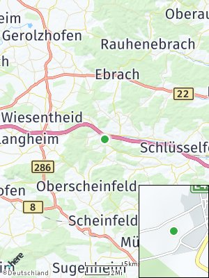 Here Map of Geiselwind