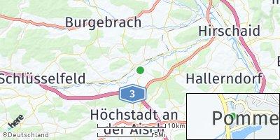 Google Map of Pommersfelden