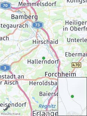 Here Map of Hallerndorf
