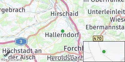 Google Map of Hallerndorf