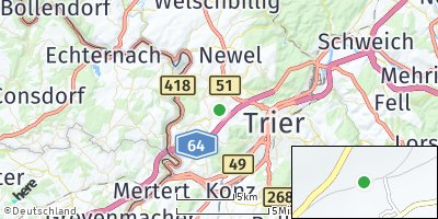 Google Map of Trierweiler