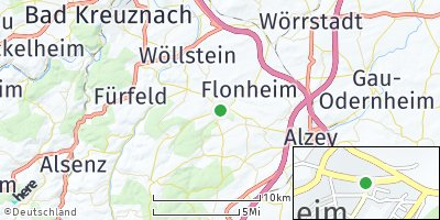 Google Map of Wendelsheim