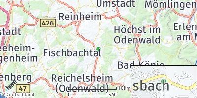 Google Map of Brensbach