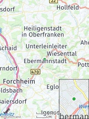 Here Map of Ebermannstadt