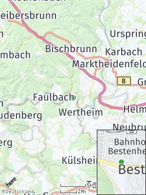 Here Map of Bestenheid