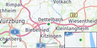 Google Map of Mainstockheim