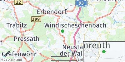 Google Map of Kirchendemenreuth