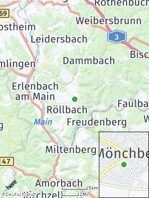 Here Map of Mönchberg