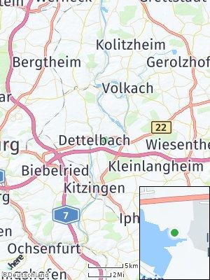 Here Map of Dettelbach