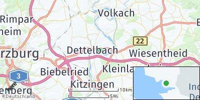 Google Map of Dettelbach