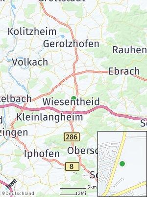 Here Map of Wiesentheid