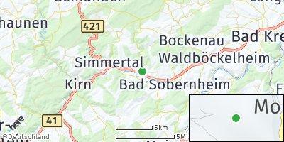 Google Map of Monzingen