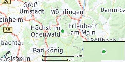 Google Map of Breuberg