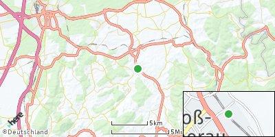 Google Map of Groß-Bieberau