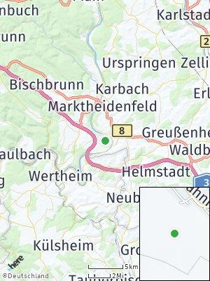 Here Map of Triefenstein