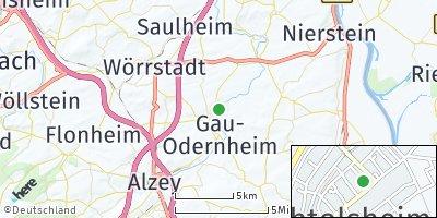 Google Map of Bechtolsheim