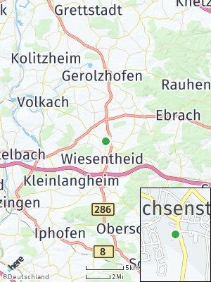 Here Map of Prichsenstadt
