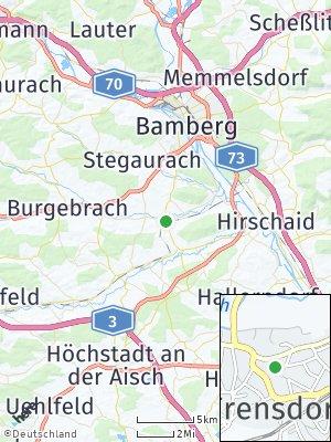 Here Map of Frensdorf
