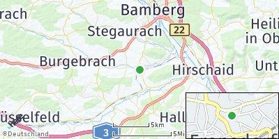 Google Map of Frensdorf
